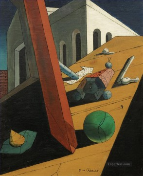 The Evil Genius of a King Giorgio de Chirico Metaphysical surrealism Oil Paintings