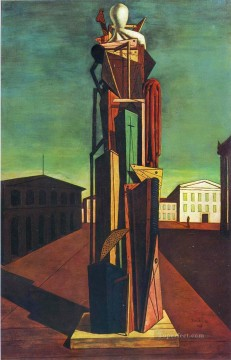 The Grand Metaphysician Giorgio de Chirico Metaphysical surrealism Oil Paintings