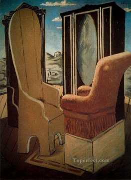 furniture in the valley Giorgio de Chirico Metaphysical surrealism Oil Paintings
