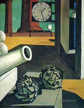 Chirico Art Painting - the conquest of the philosopher 1914 Giorgio de Chirico Metaphysical surrealism