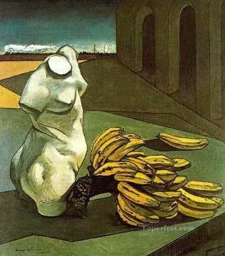 Chirico Art Painting - the uncertainty of the poet 1913 Giorgio de Chirico Metaphysical surrealism