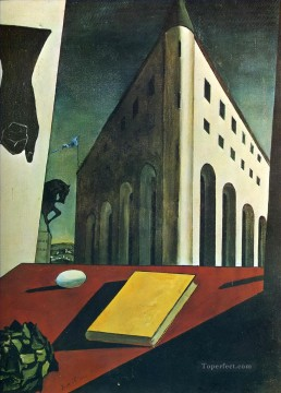 turin spring 1914 Giorgio de Chirico Metaphysical surrealism Oil Paintings