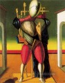 a troubadur Giorgio de Chirico Metaphysical surrealism