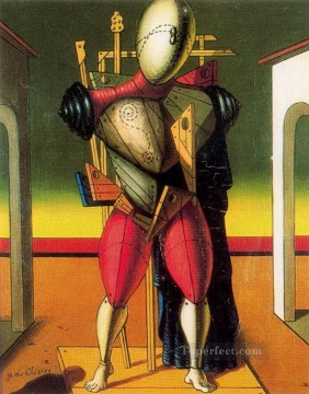 a troubadur Giorgio de Chirico Metaphysical surrealism Oil Paintings
