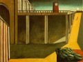 gare montparnasse the melancholy of departure 1914 Giorgio de Chirico Metaphysical surrealism