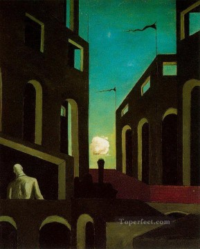 happiness of returning 1915 Giorgio de Chirico Metaphysical surrealism Oil Paintings