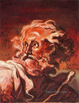 old man s head Giorgio de Chirico Metaphysical surrealism Oil Paintings