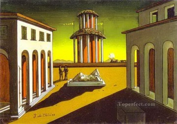 piazza d italia 1913 Giorgio de Chirico Metaphysical surrealism Oil Paintings