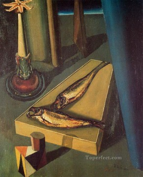 sacred fish 1919 Giorgio de Chirico Metaphysical surrealism Oil Paintings
