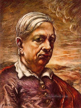 self portrait 1 Giorgio de Chirico Metaphysical surrealism Oil Paintings
