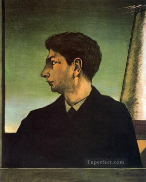 self portrait 1911 Giorgio de Chirico Metaphysical surrealism Oil Paintings