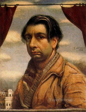 self portrait 1925 Giorgio de Chirico Metaphysical surrealism Oil Paintings