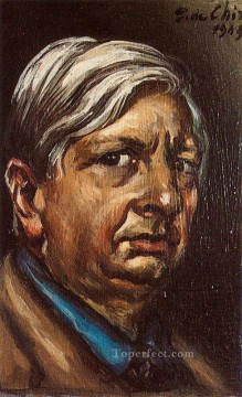 self portrait 1949 Giorgio de Chirico Metaphysical surrealism Oil Paintings
