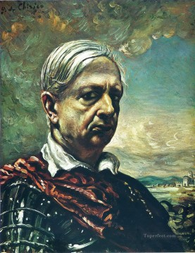 self portrait 4 Giorgio de Chirico Metaphysical surrealism Oil Paintings