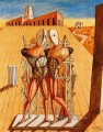 the dioscuri 1974 Giorgio de Chirico Metaphysical surrealism