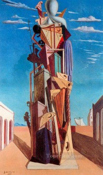 the great machine 1925 Giorgio de Chirico Metaphysical surrealism Oil Paintings