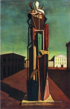 the great metaphysician 1917 Giorgio de Chirico Metaphysical surrealism Oil Paintings