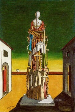 the great metaphysician 1971 Giorgio de Chirico Metaphysical surrealism Oil Paintings