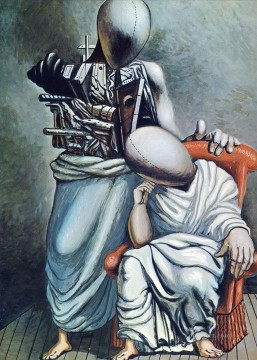Chirico Art Painting - the one consolation 1958 Giorgio de Chirico Metaphysical surrealism