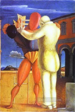the prodigal son 1922 Giorgio de Chirico Metaphysical surrealism Oil Paintings