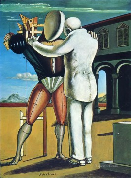 the prodigal son 1965 Giorgio de Chirico Metaphysical surrealism Oil Paintings