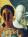 the two masks 1926 Giorgio de Chirico Metaphysical surrealism