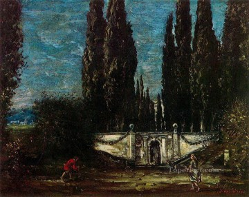 villa falconieri Giorgio de Chirico Metaphysical surrealism Oil Paintings