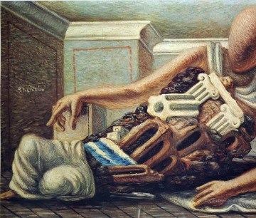 Chirico Art Painting - archaeologist Giorgio de Chirico Metaphysical surrealism