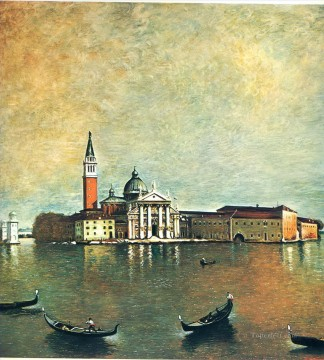 island san giorgio 1967 Giorgio de Chirico Metaphysical surrealism Oil Paintings