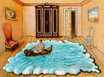 Chirico Art Painting - the return of ulysses 1968 Giorgio de Chirico Metaphysical surrealism