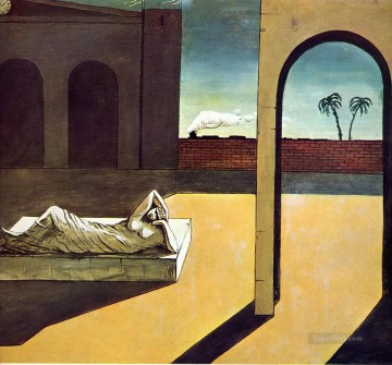 the soothsayer s recompense 1913 Giorgio de Chirico Metaphysical surrealism Oil Paintings