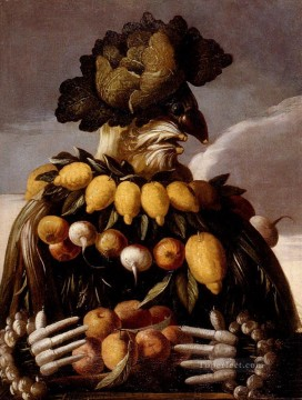 Fruit Painting - man of fruits Giuseppe Arcimboldo