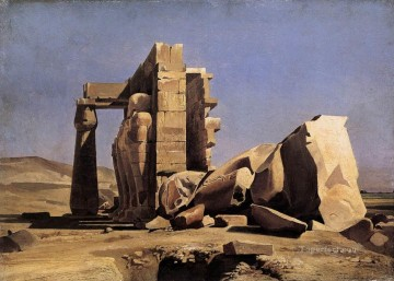 Charles Gleyre Painting - Egyptian Temple Marc Charles Gabriel Gleyre