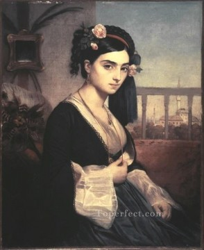 Charles Gleyre Painting - Oriental Lady Marc Charles Gabriel Gleyre