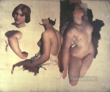 Tanz der Bacchantinnen nude Marc Charles Gabriel Gleyre Oil Paintings