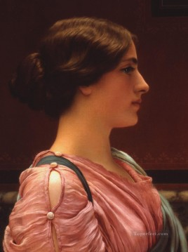 lady - A Classical Beauty Collection of Fred and Sherry Ross Neoclassicist lady John William Godward