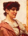 A Classical Beauty Neoclassicist lady John William Godward