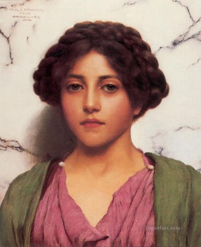 lady - Classical Beauty 1909A Neoclassicist lady John William Godward