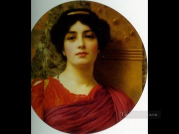 Contemplation 1903 Neoclassicist lady John William Godward Oil Paintings