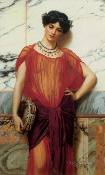 Drusilla Neoclassicist lady John William Godward Oil Paintings