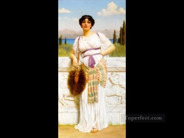 william - Greek Beauty 1905 Neoclassicist lady John William Godward