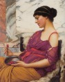 Ismenia 1908 Neoclassicist lady John William Godward