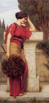 william - La Pensierosa 1913 Neoclassicist lady John William Godward