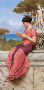 william - Le Billet Doux Neoclassicist lady John William Godward