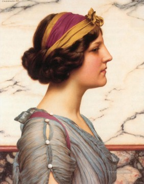 william - Megilla Neoclassicist lady John William Godward