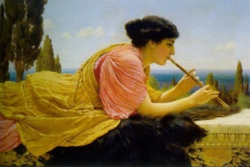 Melody 1904 Neoclassicist lady John William Godward Decor Art