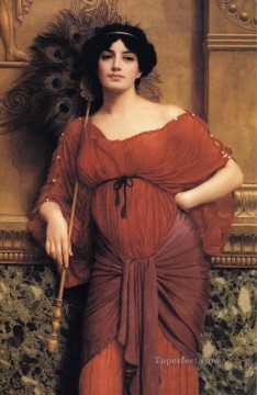 william - Roman Matron 1905 Neoclassicist lady John William Godward