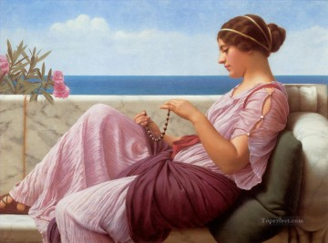 william - Souvenir Neoclassicist lady John William Godward