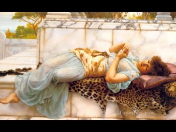 The Betrothed 1892 Neoclassicist lady John William Godward Oil Paintings