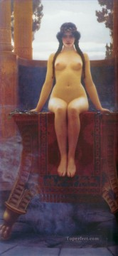 The Delphic Oracle Neoclassicist lady John William Godward Oil Paintings